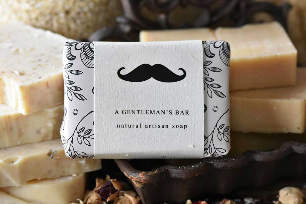 Gentlemans Bar Soap from the Dartmoor Soap Company