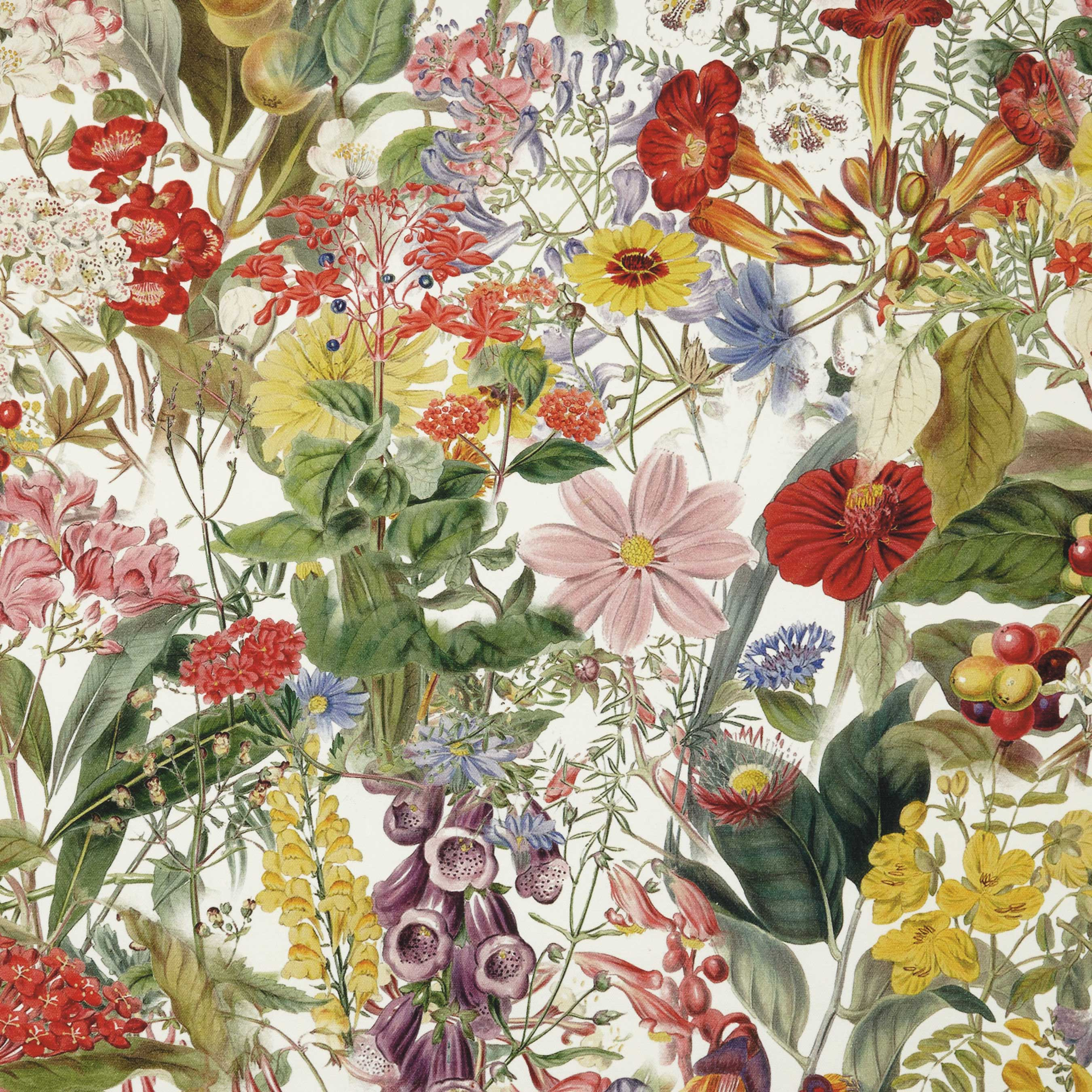 floral fabric by John Lewis