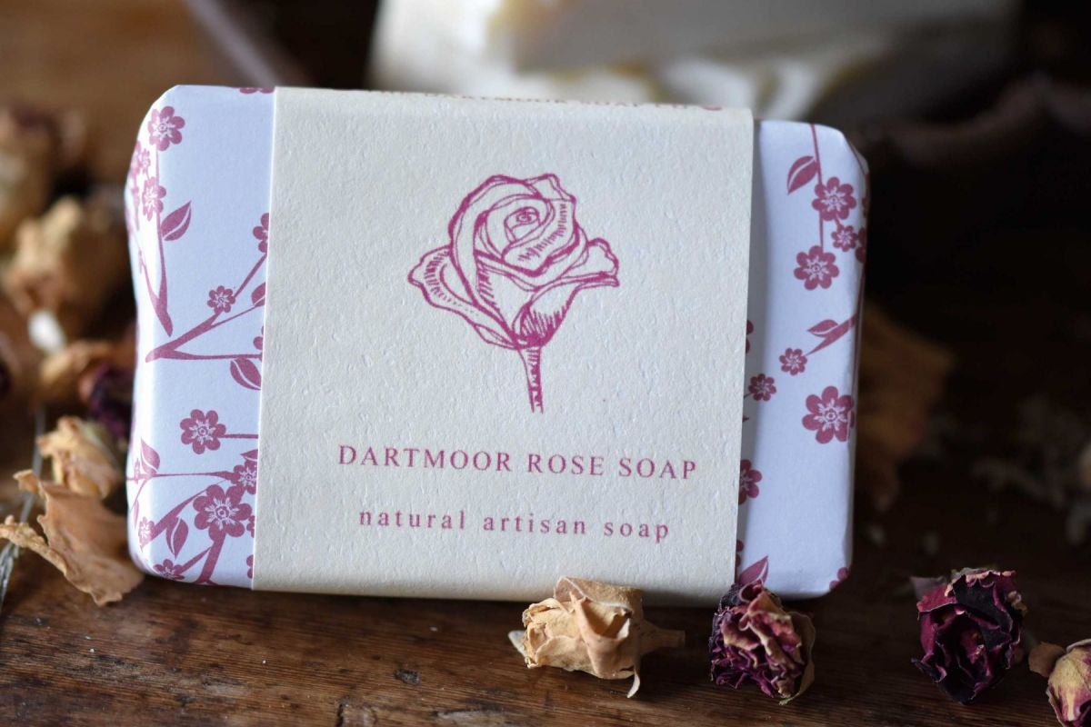 Dartmoor Rose Soap