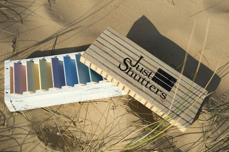 Colour swatch for the Coastal range of shutters by Just Shutters