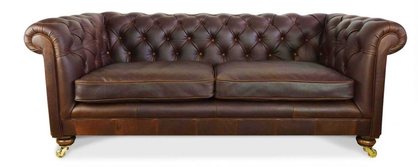 Leather sofa by Sofa Rooms Exeter
