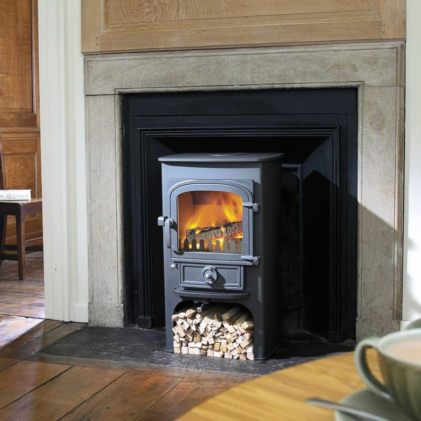 Traditional stove by Clearview, available from Exeter Stoves and Chimneys