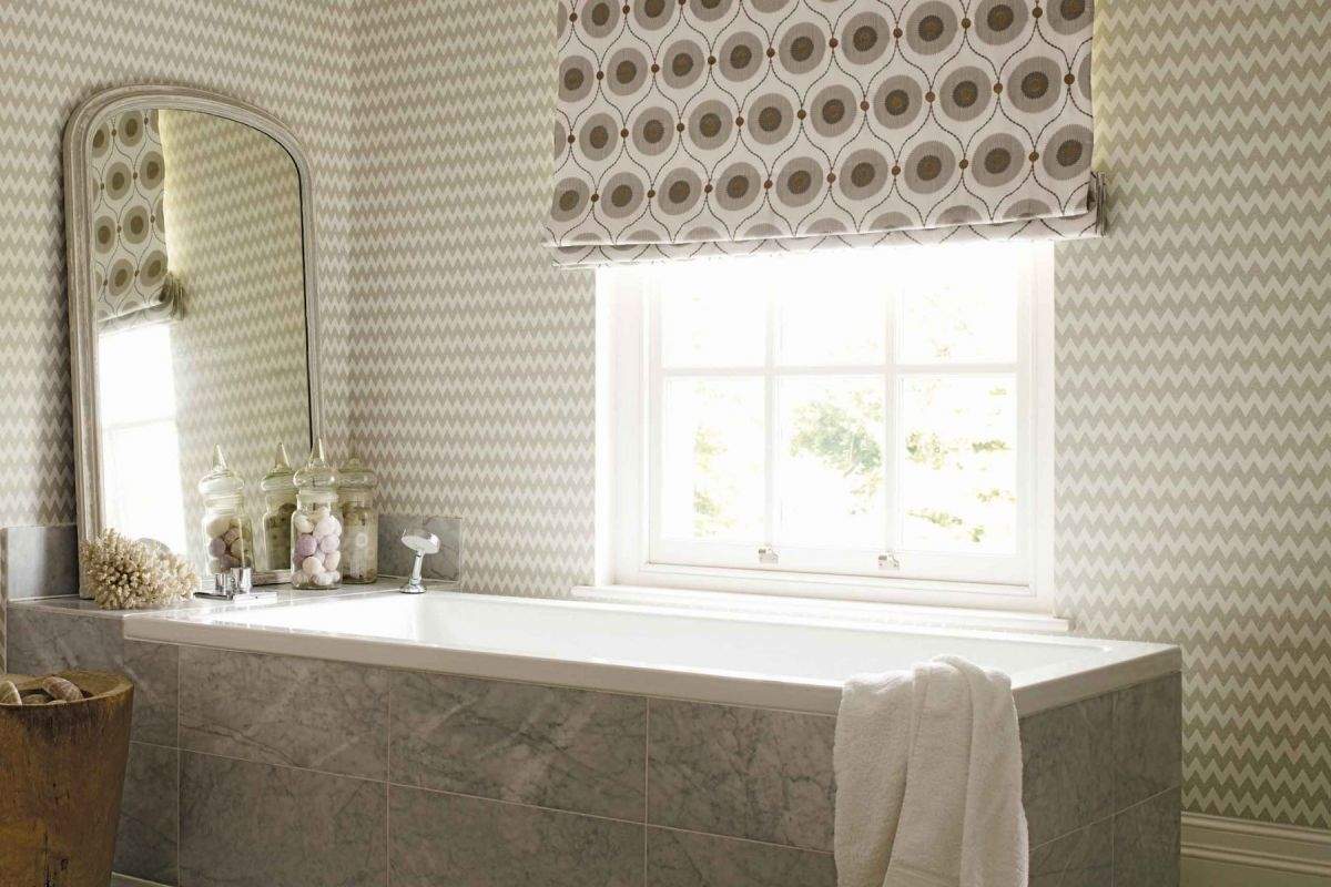 Sanderson's Starla geometric wallpaper